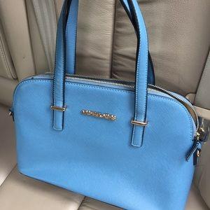 Cute baby blue Mk dup bag